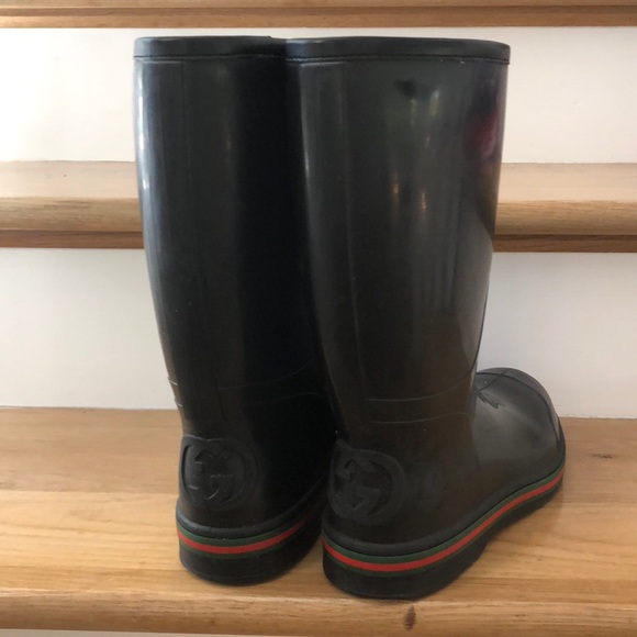6ecab30b70e Gucci Other - Gucci men s rain boots size 10.5